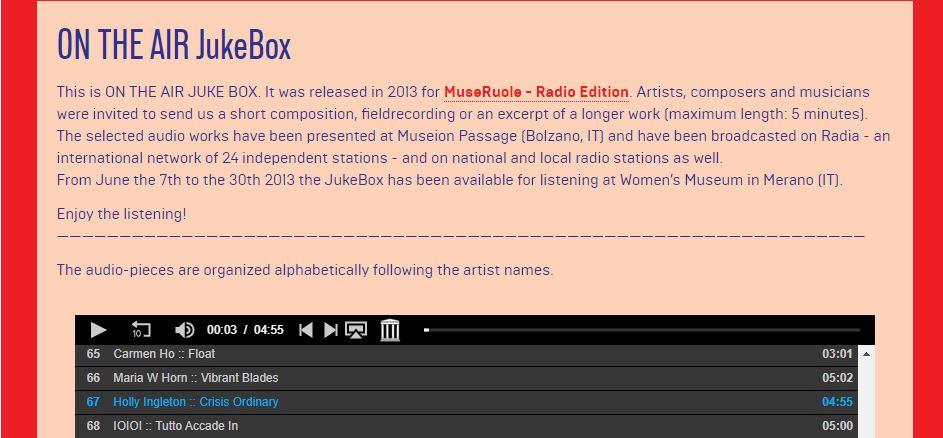 Museruole Juke Box